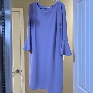 Light lilac dress w/ gold zipper